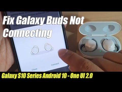 Fix Galaxy Buds Not Connecting / Pairing Issue