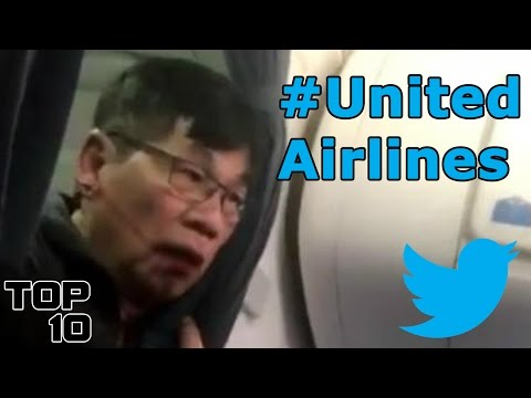 Top 10 United Airlines Twitter Roasts