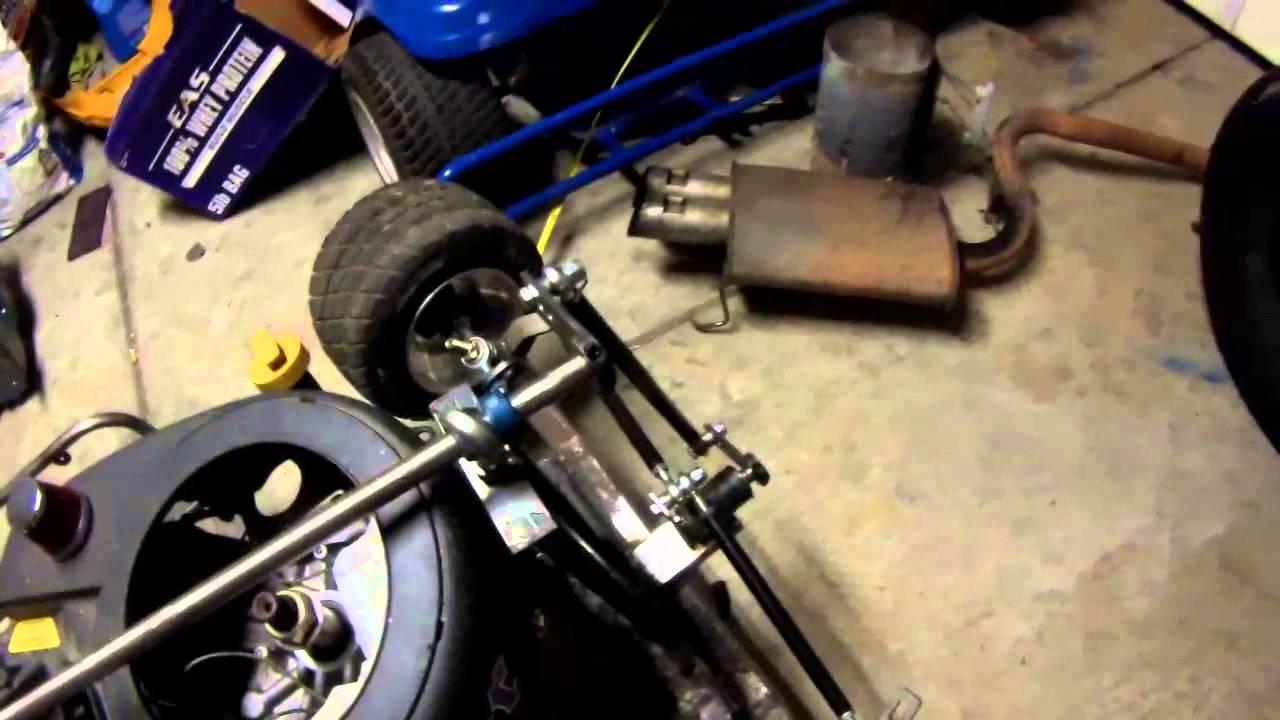 Racing Mower Steering Youtube