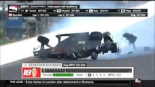 #48 【モータースポーツ衝撃事故】  インディカーレースの衝撃クラッシュ映像集