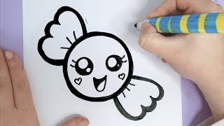 draw drawings happy super candy