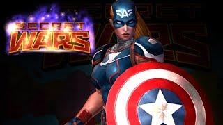 Captain America New Female Combat Day 1.14M Marvel future fight extreme alliance battle