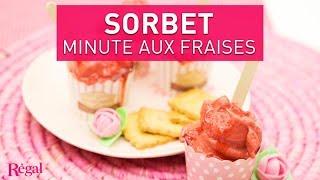 Sorbet express à la fraise | regal.fr