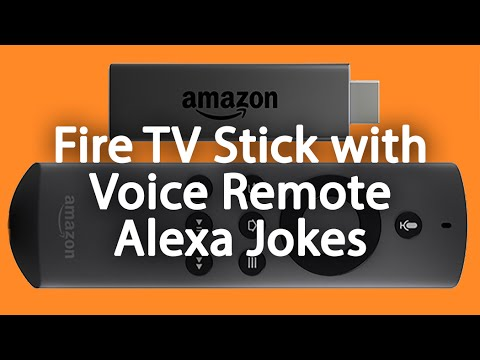Fire Stick TV with Voice Remote - Alexa Jokes​​​ | H2TechVideos​​​