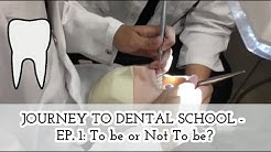 Why I chose Dentistry over Medicine - (Ep. 1) Mockumentary