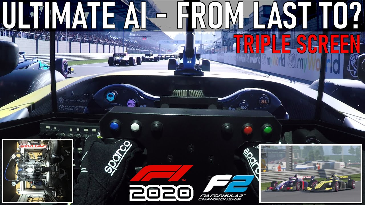[F1 2020] Ultimate AI - From last to? | Formula 2 @ Red Bull Ring [Triple Screen Onboard]