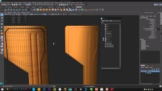 Grenade#2 - HardSurface Modeling - Maya 2016