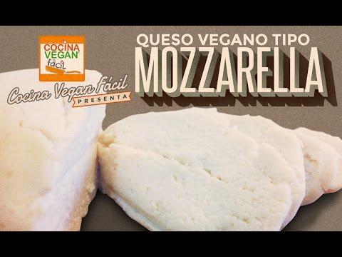Queso tipo mozzarella - Cocina Vegan Fácil