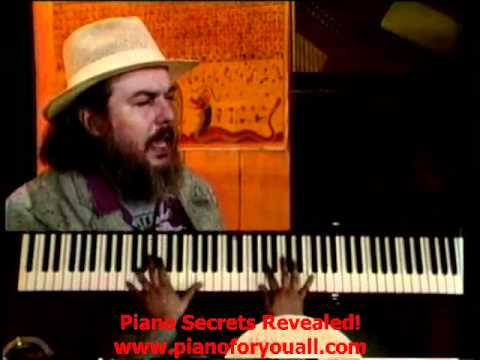 Dr. John playing 'IKO IKO'