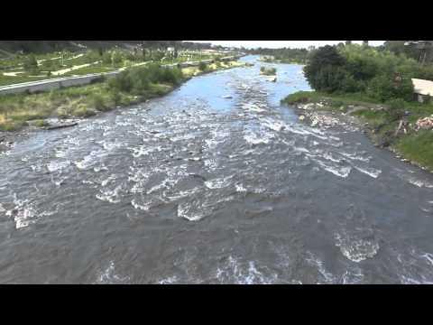 """шум реки """" Терек"""""""