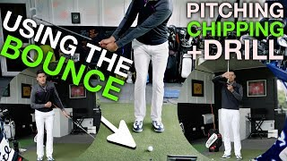 Using the Bounce When Chipping and Pitching - With James Goddard