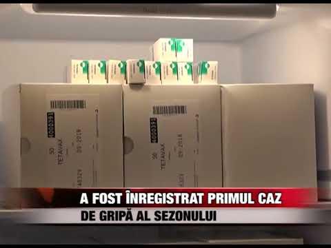 A fost înregistrat primul caz de gripã al sezonului