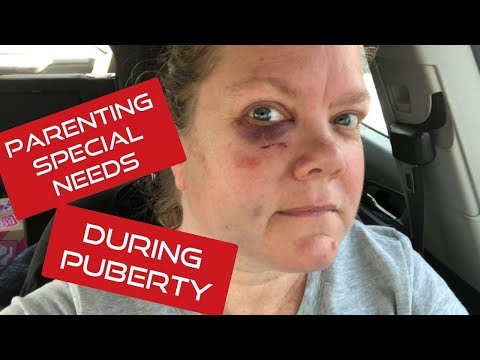 Parenting A Special Needs Child In Puberty || Meltdown || Aggression
