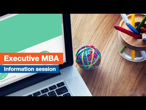 Executive MBA Online Information Session | London Business School