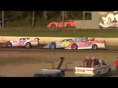 Eriez Speedway RUSH Crate Late Model Heat Races 7-30-17