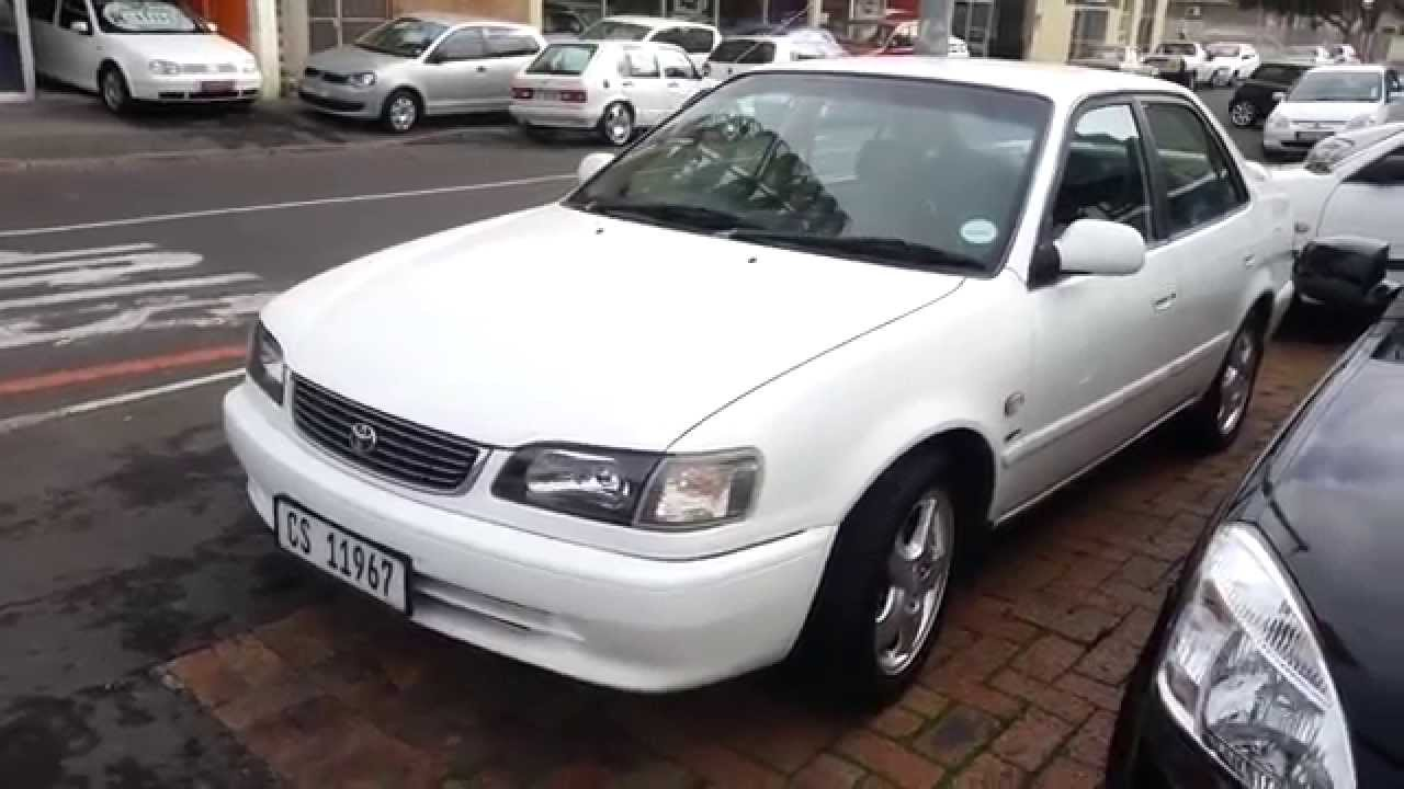 2001 toyota corolla 2 0 rxi for sale on www autodealer co za youtube