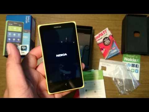 Unboxing Nokia X (Indonesia)