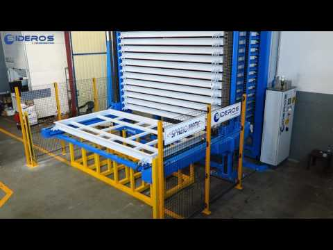 Sheet Metal Storage System - Sideros Engineering - Spaziomatic