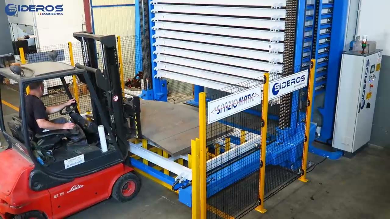 Sheet Metal Storage System Sideros Engineering