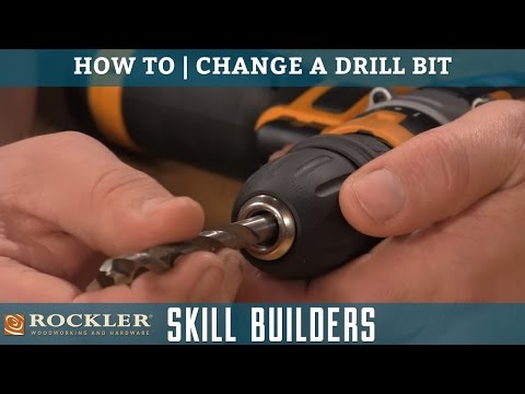 How to Change a Drill Bit | Rockler Skill Builders