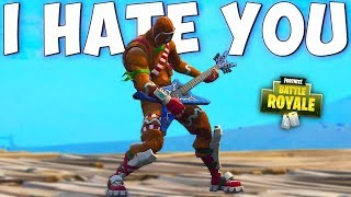 I HATE YOU IF YOU WEAR THIS SKIN 😂 Fortnite Battle Royale