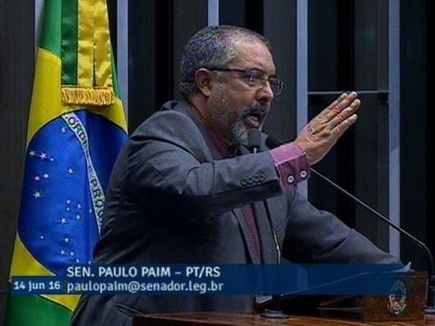 Paulo Paim anuncia ciclo de debates em todo o País sobre medidas de combate ao trabalho escravo