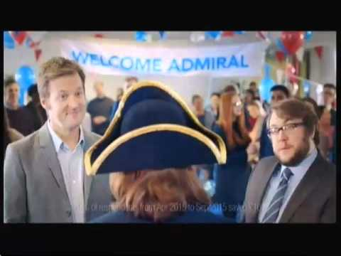 Admiral advert (UK) - 28th February 2016