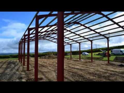 Gareth Pugh Steel Framed Buildings - YouTube