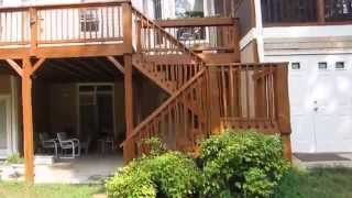 """Renew Crew of the Triangle Large Deck & Screened Porch Protecting / Staining / Sealing """"After"""" Video"""