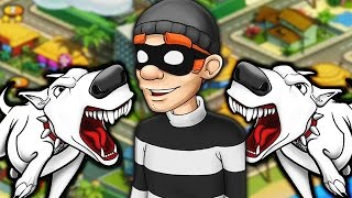 ВОРИШКА БОБ 2 часть [3] ЗЛЫЕ СОБАКИ Игровой мультик Игра для детей Robbery Bob 2