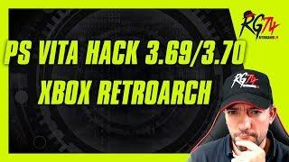 PSVita Hack 3.69/3.70  - XBOX Retroarch - Switch Vincular Cuenta