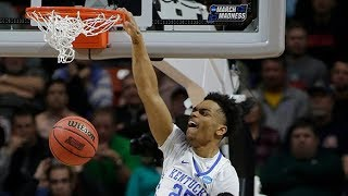 Buffalo vs. Kentucky: Wildcats put on a dunk show in the first half