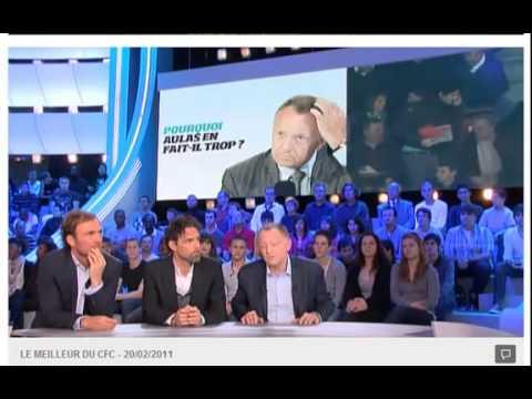 Jean-Michel Aulas vs Pierre Ménès