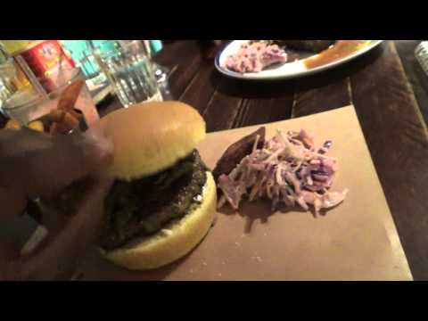 Jamaican Jerk Burger At Turtle Bay: Goat Remix