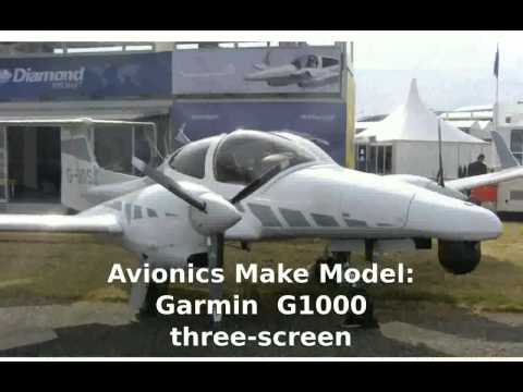 Diamond DA50 SuperStar  Private  Prop Plane -  Features Specs