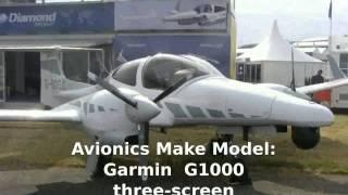 Diamond DA50 SuperStar  Private  Prop Plane -  Features Specs