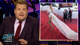 James uses a special instagram feature to figure out what was cropped of photos on celebrity accounts. more late show: subscribe: http://b...