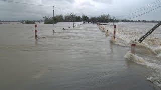 Nhiều công trình giao thông tại Bình Định bị hư hỏng sau lũ