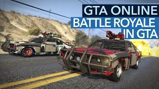 GTA Online - Rockstars Antwort auf PUBG - Motor Wars Gameplay