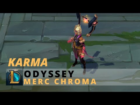 Odyssey Karma Merc Chroma - League Of Legends