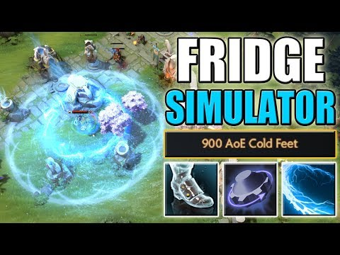 True Snowstorm is coming [Unlimited AoE Cold Feet + Plasma Field] Dota 2 Ability Draft