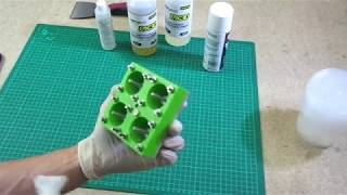 3d Printed Mold used to Cast Simple Polyurethane Parts