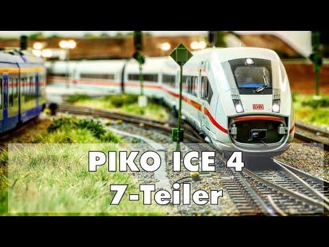 H0 Modellbahn – Piko ICE 4 KOMPLETTER 7-Teiler