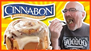 Cinnabon Review from Lafayette, Louisiana, w/Live Periscope