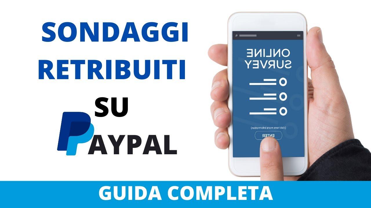 sondaggi pagati paypal)