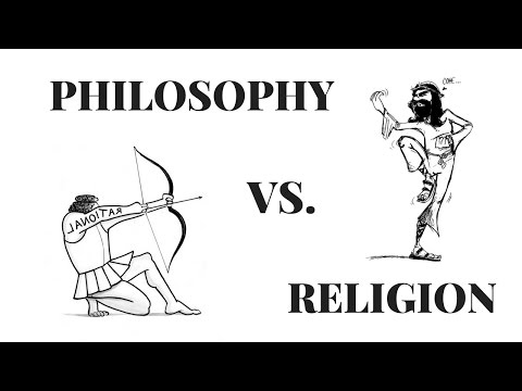 Religion vs  Philosophy in 3 Minutes