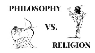 And The difference between religion philosophy