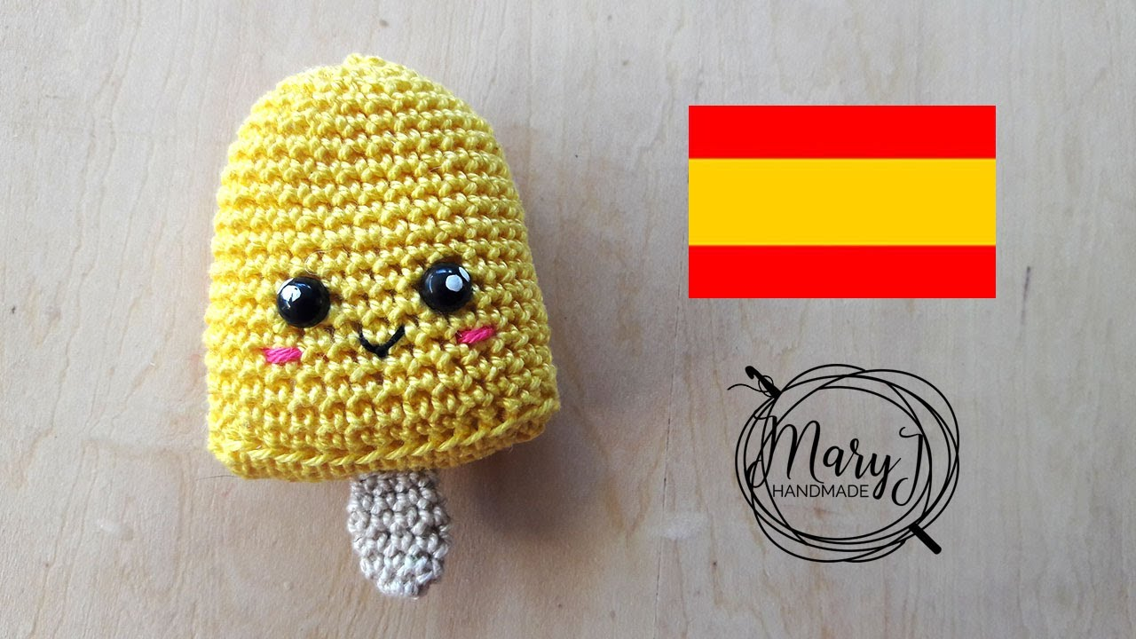 938d8751c Helado amigurumi | Tutorial crochet | MARYJ HANDMADE