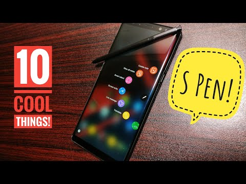 10 cool things to do with S Pen On Samsung Galaxy Note 8!