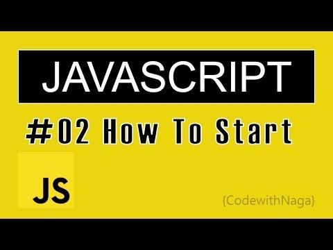 JavaScript Tutorial For Beginners In Tamil (2019) | How To Start JavaScript